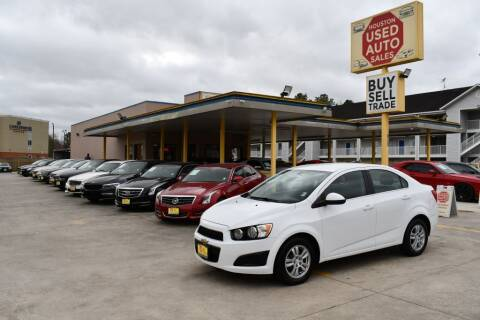 2015 Chevrolet Sonic for sale at Houston Used Auto Sales in Houston TX