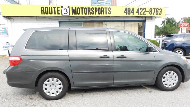2007 Honda Odyssey for sale at Route 3 Motors in Broomall PA