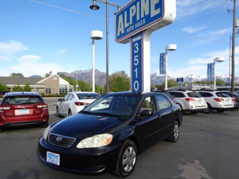 2006 Toyota Corolla for sale at Alpine Auto Sales in Salt Lake City UT