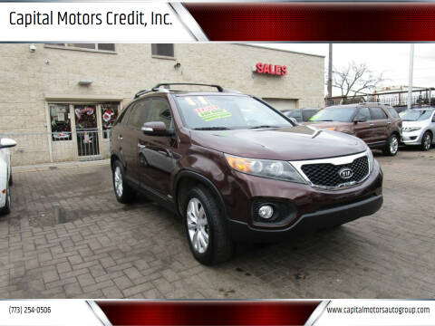 2011 Kia Sorento for sale at Capital Motors Credit, Inc. in Chicago IL