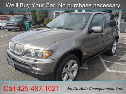 2006 BMW X5 for sale at Platinum Autos in Woodinville WA