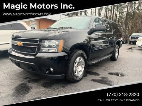 2014 Chevrolet Suburban for sale at Magic Motors Inc. in Snellville GA