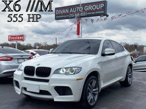 2011 BMW X6 M for sale at Divan Auto Group in Feasterville PA
