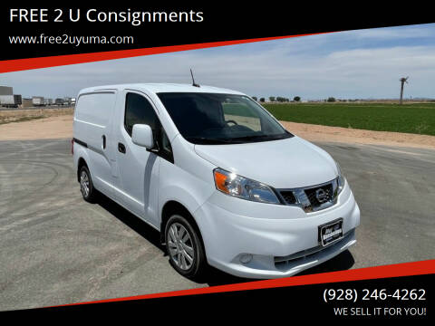 2015 Nissan NV200 for sale at FREE 2 U Consignments in Yuma AZ