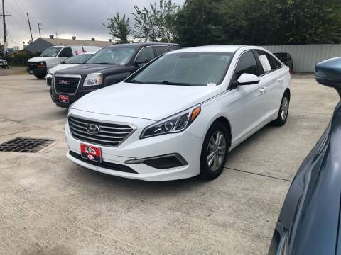 2017 Hyundai Sonata for sale at FREDY CARS FOR LESS in Houston TX