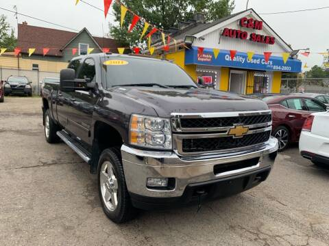 2011 Chevrolet Silverado 2500HD for sale at C & M Auto Sales in Detroit MI