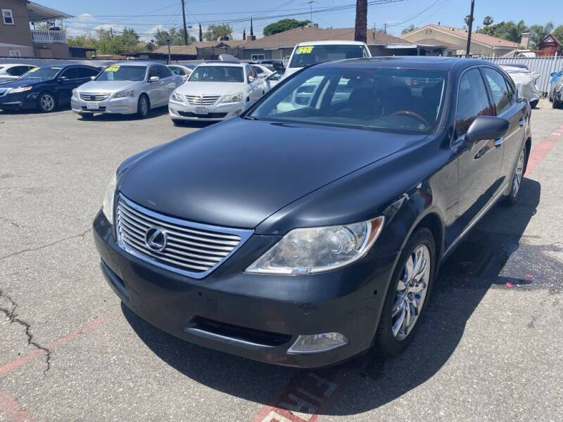 2009 Lexus LS 460 for sale at AutoHaus in Colton CA