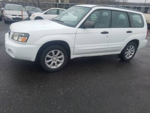2005 Subaru Forester for sale at JG Motors in Worcester MA