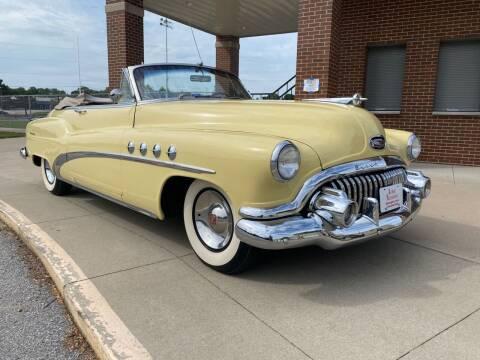 1952 Buick Roadmaster for sale at Klemme Klassic Kars in Davenport IA