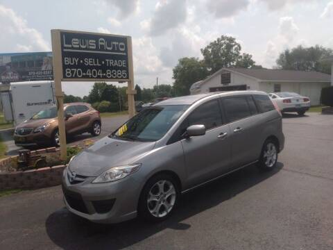 2010 Mazda MAZDA5 for sale at LEWIS AUTO in Mountain Home AR