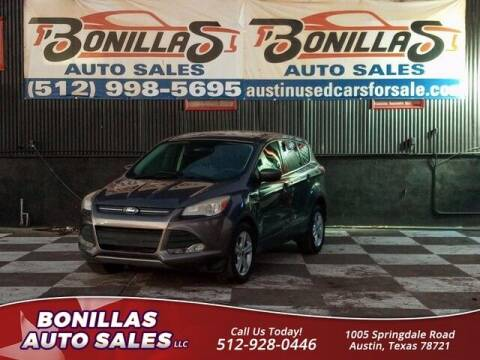 2013 Ford Escape for sale at Bonillas Auto Sales in Austin TX