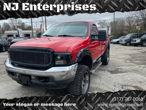 2002 Ford F-350 Super Duty for sale at NJ Enterprises in Indianapolis IN
