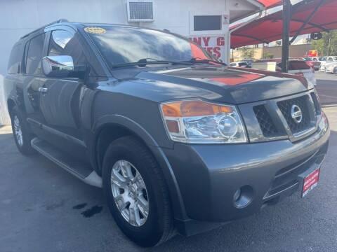2012 Nissan Armada for sale at Manny G Motors in San Antonio TX