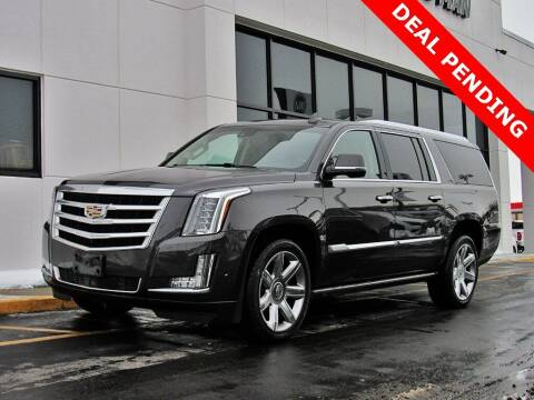 2017 Cadillac Escalade ESV for sale at INDY AUTO MAN in Indianapolis IN