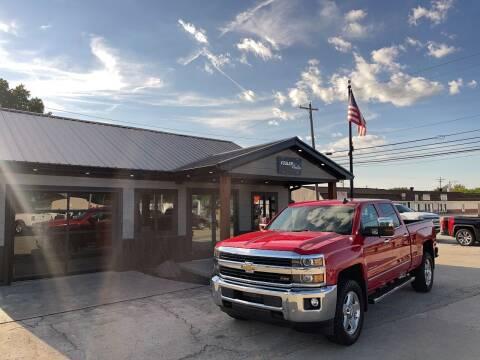 2015 Chevrolet Silverado 2500HD for sale at Fesler Auto in Pendleton IN