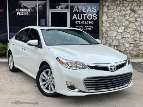 2014 Toyota Avalon for sale at ATLAS AUTOS in Marietta GA