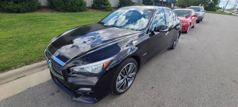 2014 Infiniti Q50 Hybrid for sale at Steve's Auto Sales in Madison WI