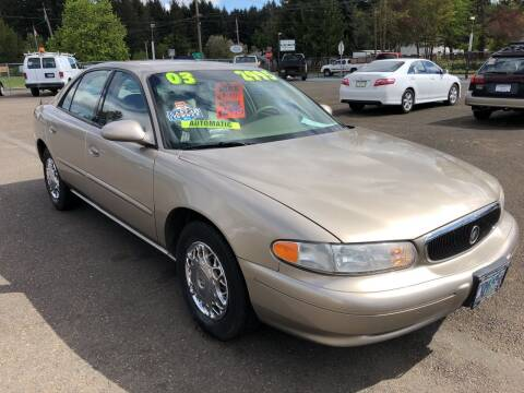 2003 Buick Century for sale at Freeborn Motors in Lafayette, OR