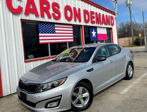 2014 Kia Optima for sale at Cars On Demand 3 in Pasadena TX