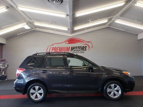 2015 Subaru Forester for sale at Premium Motors in Villa Park IL