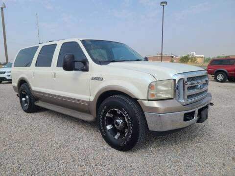 2000 Ford Excursion for sale at BERKENKOTTER MOTORS in Brighton CO