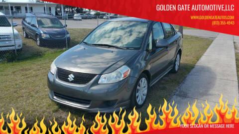 2010 Suzuki SX4 Sport for sale at GOLDEN GATE AUTOMOTIVE,LLC in Zephyrhills FL