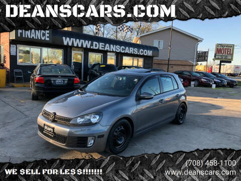 2011 Volkswagen GTI for sale at DEANSCARS.COM in Bridgeview IL