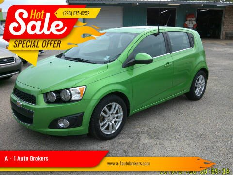 2014 Chevrolet Sonic for sale at A - 1 Auto Brokers in Ocean Springs MS