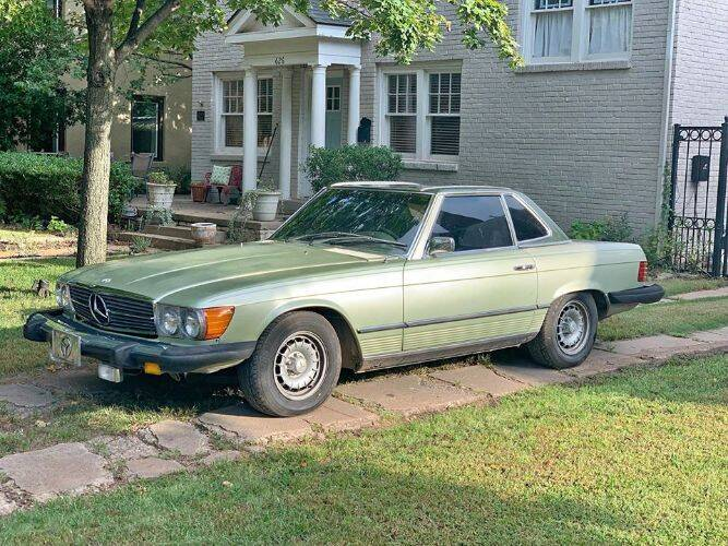 1974 Mercedes-Benz 450 SL for sale in Cadillac, MI