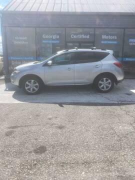 2009 Nissan Murano for sale at Georgia Certified Motors in Stockbridge GA
