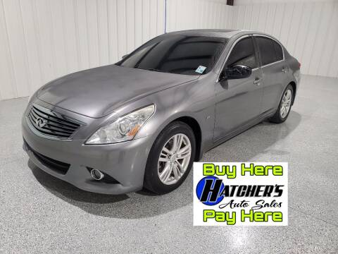 2015 Infiniti Q40 for sale at Hatcher's Auto Sales, LLC - Buy Here Pay Here in Campbellsville KY