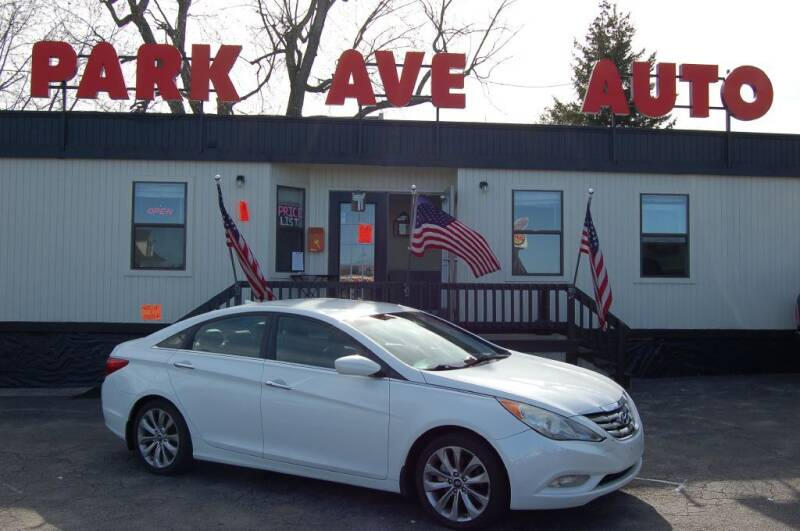 2013 Hyundai Sonata for sale at Park Ave Auto Inc. in Worcester MA