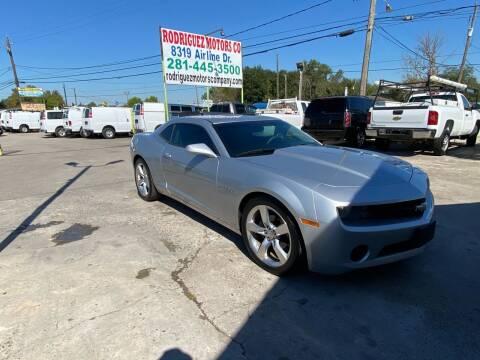 2011 Chevrolet Camaro for sale at RODRIGUEZ MOTORS CO. in Houston TX