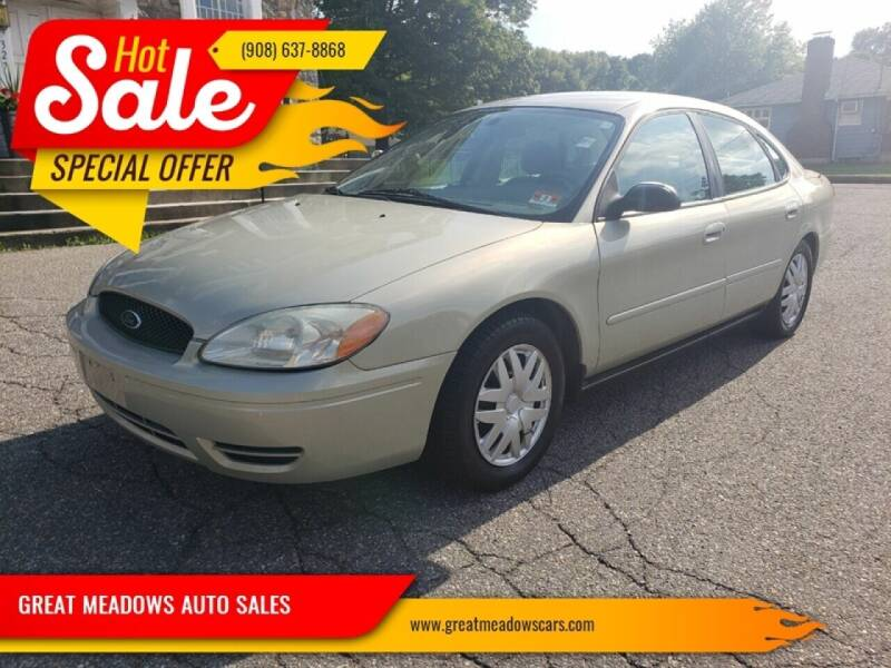 2007 Ford Taurus for sale at GREAT MEADOWS AUTO SALES in Great Meadows NJ