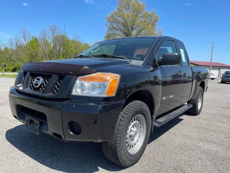 2010 Nissan Titan for sale at Best Buy Auto Sales in Murphysboro IL