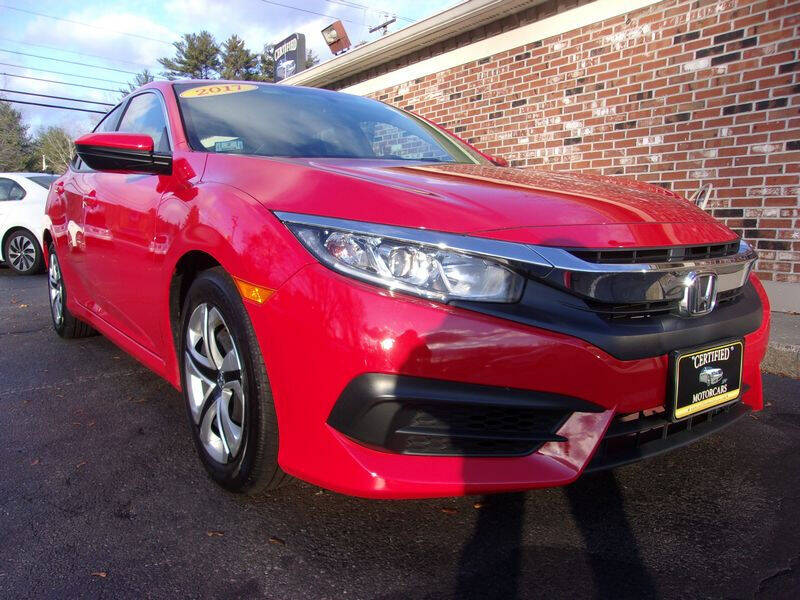 2017 Honda Civic for sale at Certified Motorcars LLC in Franklin NH