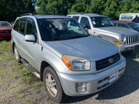 2003 Toyota RAV4 for sale at Trocci's Auto Sales in West Pittsburg PA