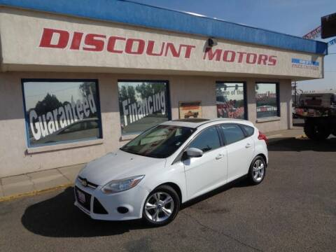 2013 Ford Focus for sale at Discount Motors in Pueblo CO