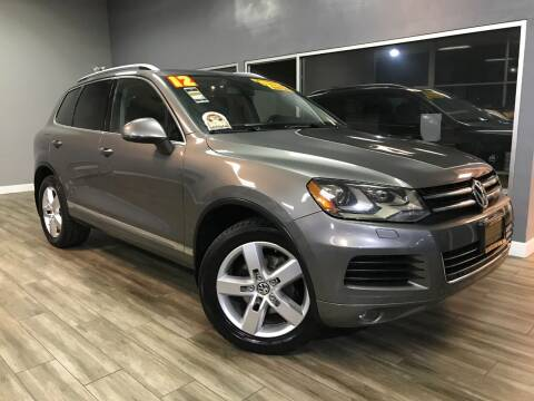 2012 Volkswagen Touareg for sale at Golden State Auto Inc. in Rancho Cordova CA