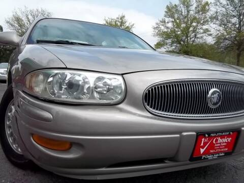 2003 Buick LeSabre for sale at 1st Choice Auto Sales in Fairfax VA