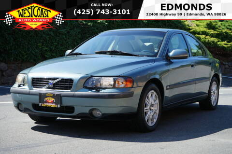 2003 Volvo S60 for sale at West Coast Auto Works in Edmonds WA