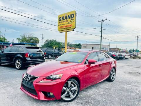 2014 Lexus IS 350 for sale at Grand Auto Sales in Tampa FL