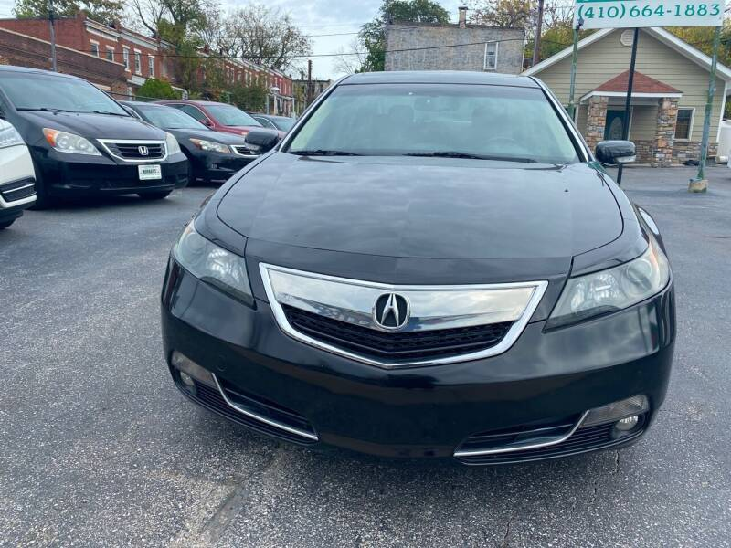2012 Acura TL for sale at Murrays Used Cars in Baltimore MD