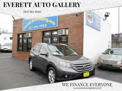 2014 Honda CR-V for sale at Everett Auto Gallery in Everett MA
