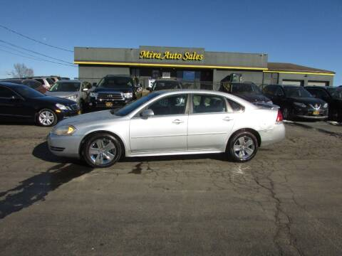 2011 Chevrolet Impala for sale at MIRA AUTO SALES in Cincinnati OH