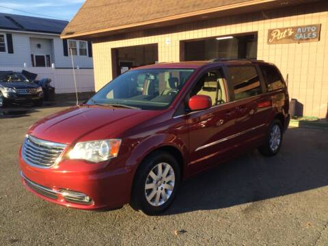 2014 Chrysler Town and Country for sale at Pat's Auto Sales, Inc. in West Springfield MA
