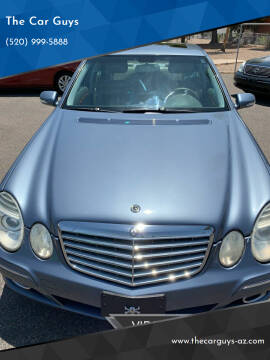 2007 Mercedes-Benz E-Class for sale at The Car Guys in Tucson AZ