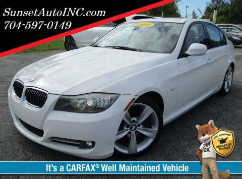 2010 BMW 3 Series for sale at Sunset Auto in Charlotte NC