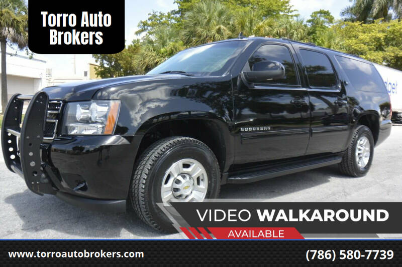 2011 Chevrolet Suburban for sale at Torro Auto Brokers in Miami FL