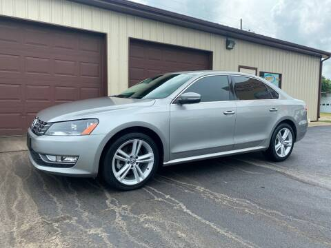 2013 Volkswagen Passat for sale at Ryans Auto Sales in Muncie IN